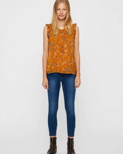 Блузка с рюшами осенняя Vero Moda