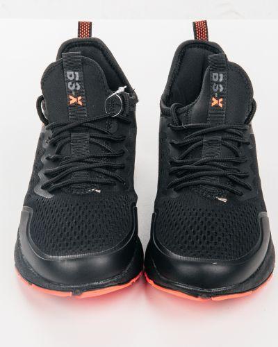 Текстильные черные кроссовки Baas