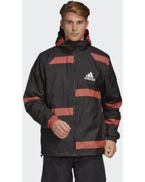 Черная куртка Adidas
