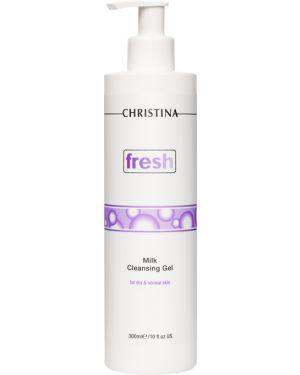 Пенка для умывания лица кожаный очищающий Christina