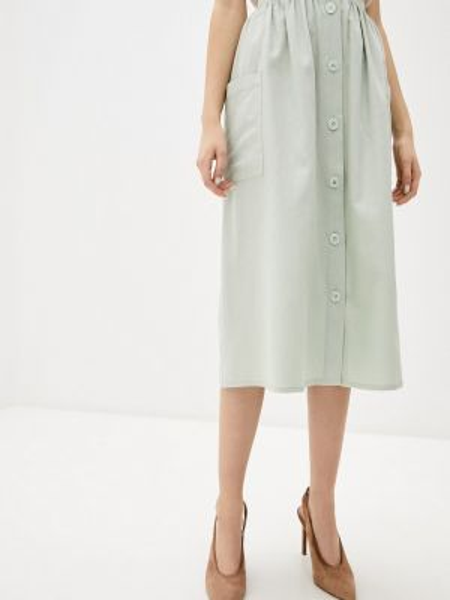 Платье весеннее зеленый Baon