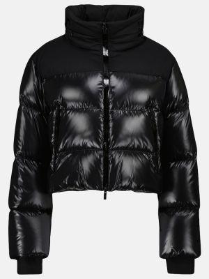 Пуховая куртка - черная Moncler