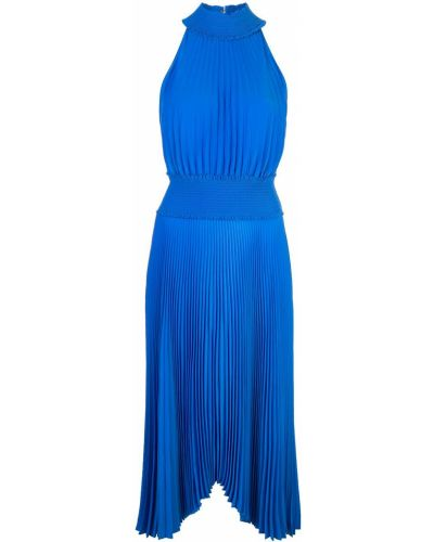 Платье миди на пуговицах плиссированное Alc