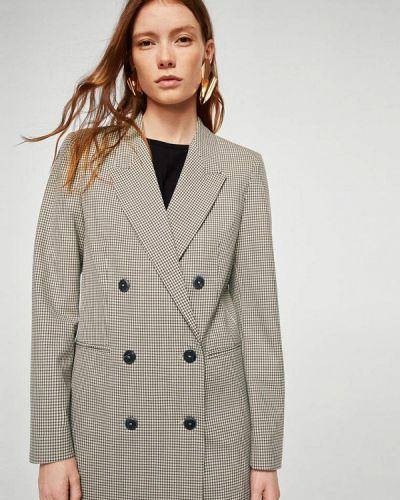 Пиджак серый турецкий Mango