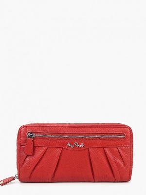 Красный кошелек итальянский Tony Perotti
