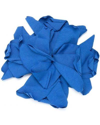 Niebieska broszka bawełniana Touriste