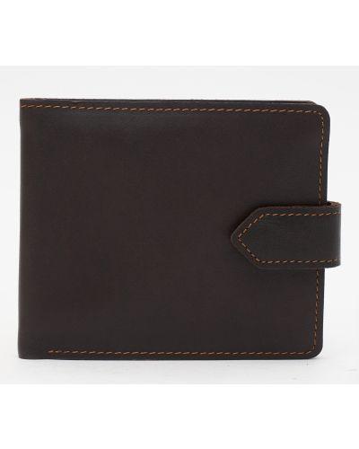 Кожаный портмоне - коричневый Palmera