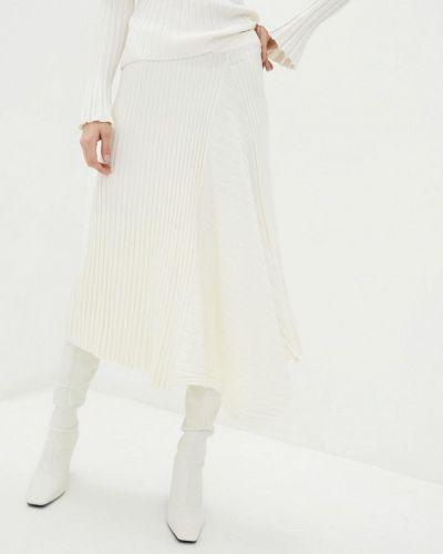 Бежевая юбка свободного кроя Miss Sixty