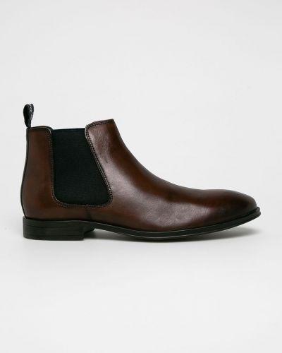 Кожаные ботинки повседневные высокие S.oliver