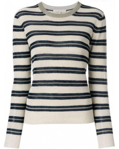 Бежевый свитер в полоску Vanessa Bruno