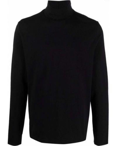 Koszulka bawełniana - czarna Filippa K