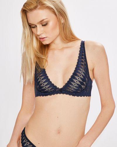 Бюстгальтер с мягкой чашкой на косточках темно-синий Heidi Klum Intimates