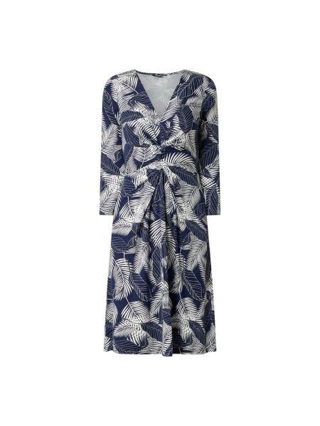 Sukienka rozkloszowana - niebieska Ilse Jacobsen