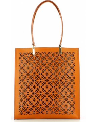 Pomarańczowa torebka Borbonese
