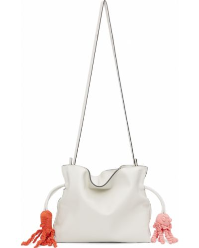 Kopertówka srebrna - biała Loewe