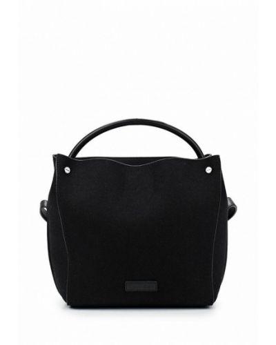 Черная сумка из полиэстера Calvin Klein Jeans