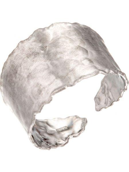 Кольцо из серебра массивный Madde