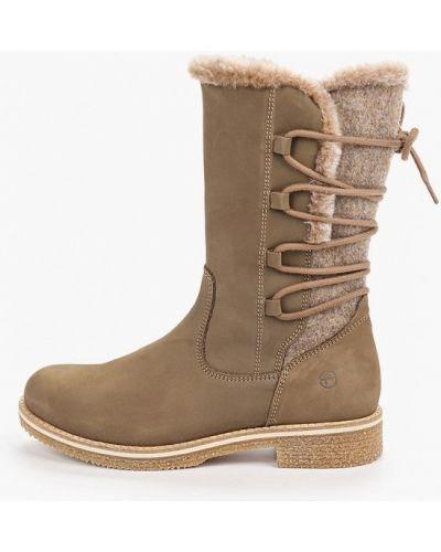 Ботинки на каблуке осенние Tamaris