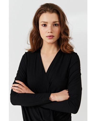 Блузка с запахом с драпировкой Simple