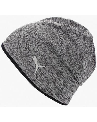 Серая шапка осенняя Puma