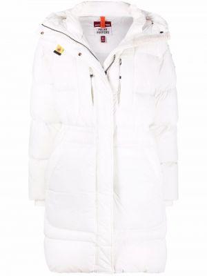 Куртка с капюшоном - белая Parajumpers