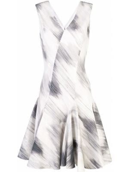 Приталенное платье на молнии Josie Natori