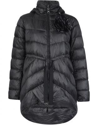 Куртка из полиэстера - черная Twin-set