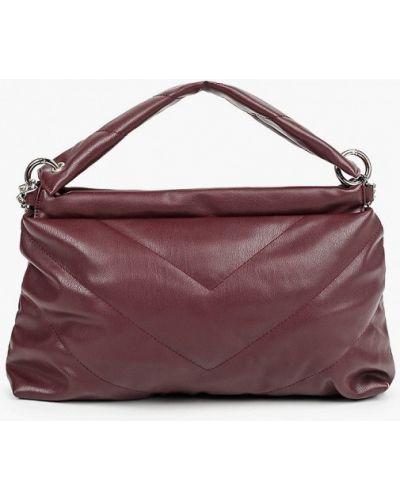 Красная кожаная сумка из искусственной кожи Keddo