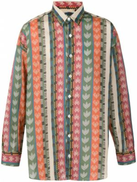 Koszula z długim rękawem klasyczna w paski Costumein