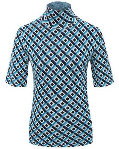 Синий пуловер из вискозы Escada