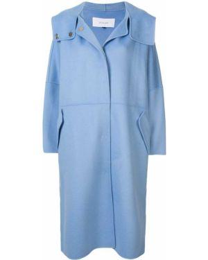 Пальто оверсайз - синее Le Ciel Bleu