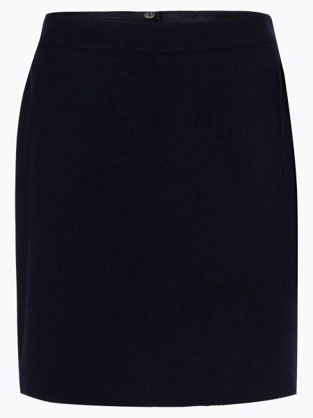 Ciepła niebieska spódnica mini Marie Lund