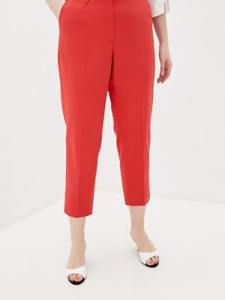 Красные брюки с воротником Samoon By Gerry Weber