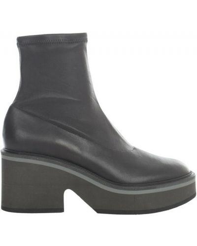Czarne ankle boots Clergerie