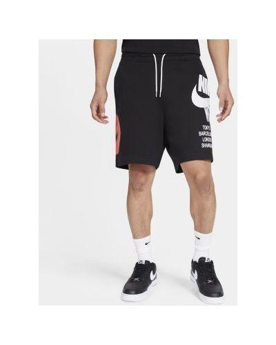 Повседневные текстильные мягкие шорты Nike