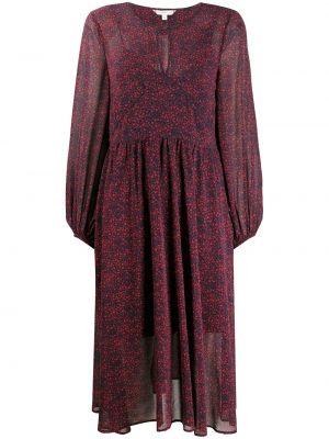 Платье миди с цветочным принтом шифоновое Tommy Hilfiger