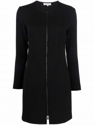 Черное платье с длинными рукавами Antonelli