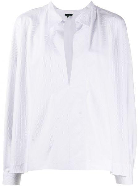 Хлопковая с рукавами белая классическая рубашка Jejia