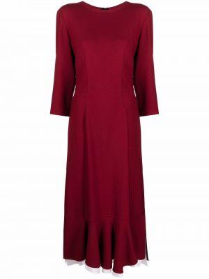 Платье миди - красное Marni