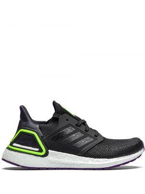 Черный кружевной топ на шнуровке Adidas