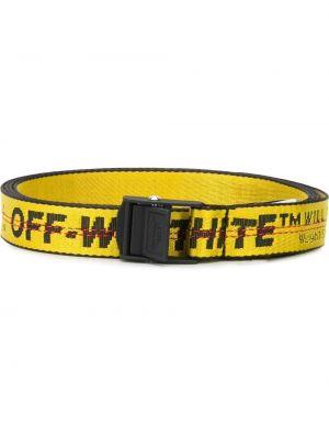 Черный ремень с поясом Off-white