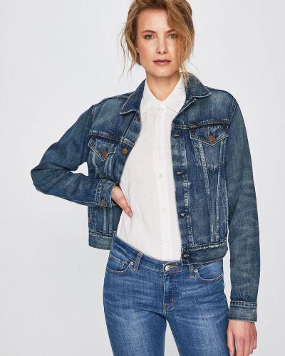 Джинсовая куртка на пуговицах облегченная Polo Ralph Lauren
