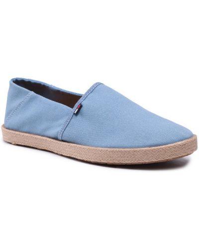 Niebieskie espadryle Tommy Jeans