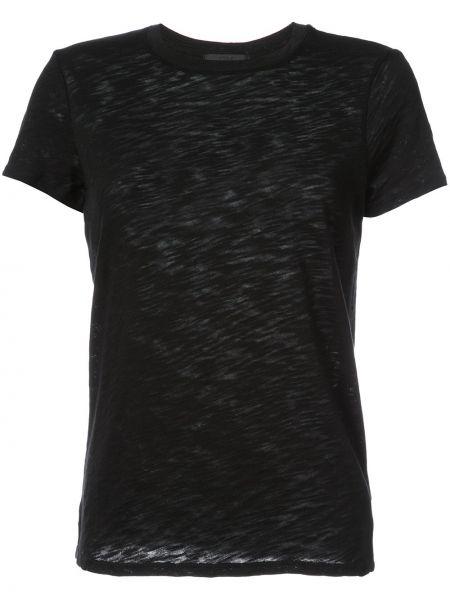 Klasyczny czarny klasyczna koszula bawełniany Atm Anthony Thomas Melillo