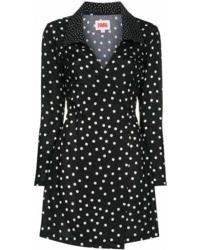 Платье мини в горошек макси Solid & Striped