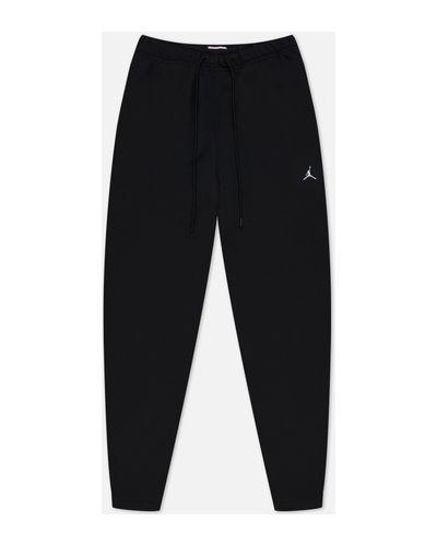 Черные хлопковые брюки Jordan