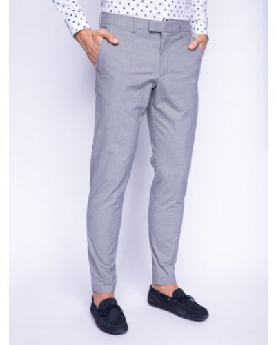 Szare spodnie materiałowe Strellson