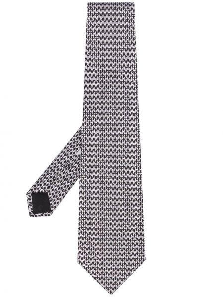 Jedwab klasyczny krawat Salvatore Ferragamo Pre-owned