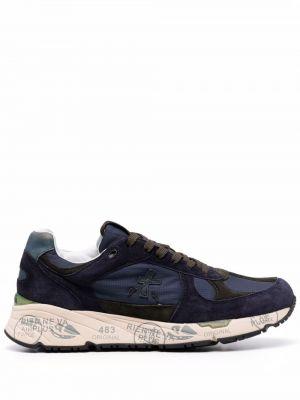 Синие резиновые кроссовки Premiata