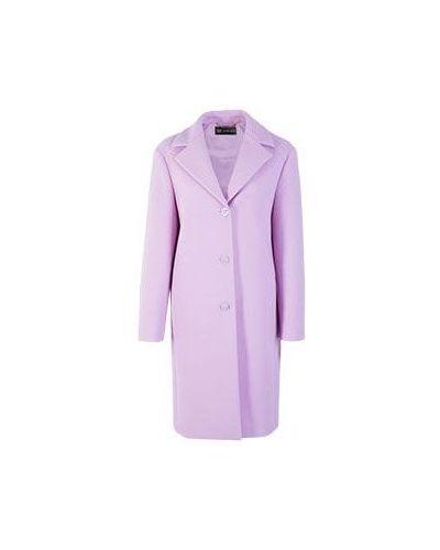 Фиолетовое пальто осеннее Versace